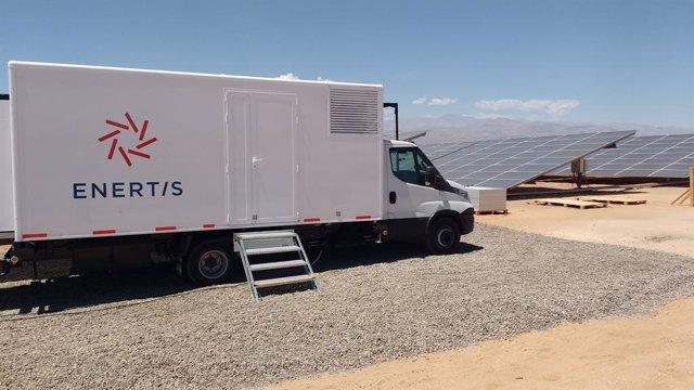 [Grupoeconomia] Ndp Enertis: Enertis Pone En Marcha Su Primer Laboratorio Fotovoltaico Móvil En México 17 Proyectos Que Suman Más De 1,4 Gw De Potencia Instalada
