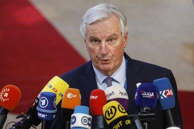 Barnier diu que no li sorprenen les amenaces d'un Brexit sense pacte (Thierry Roge/BELGA/dpa - Archivo)
