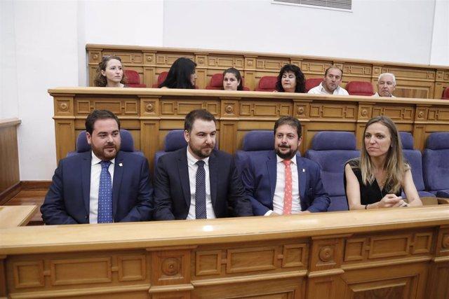 Nuevos diputados del PSOE en las Cortes de C-LM.