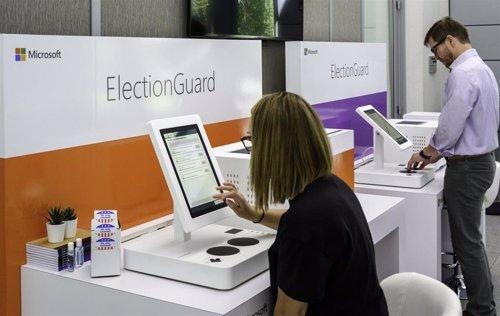 Microsoft muestra ElectionGuard en Aspen Security Forum