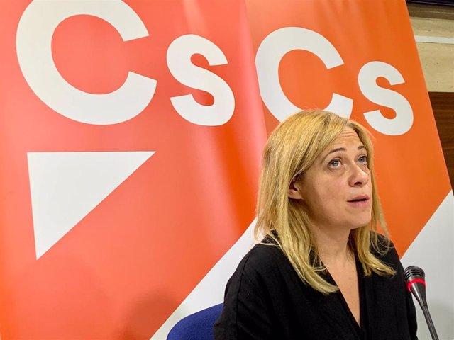 La portavoz de Cs en las Cortes, Carmen Picazo.