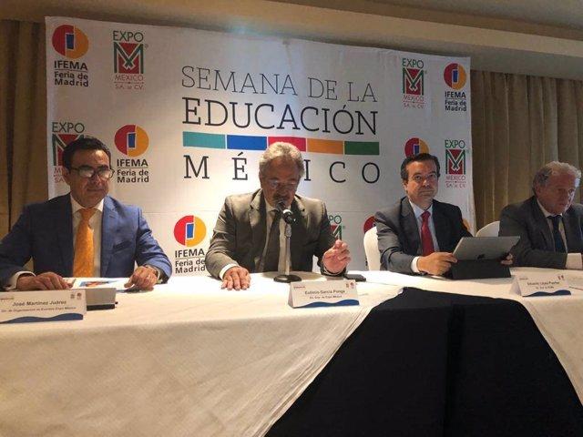 Semana De La Educación México Presenta Su Primera Edición, En La Ciudad De México