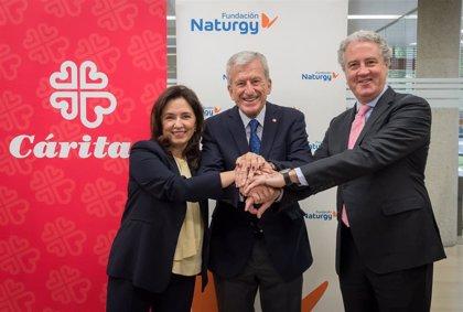 Fundación Naturgy y Cáritas atienden a cerca de 20.000 personas en España y renuevan su colaboración solidaria