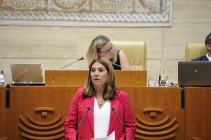 PSOE y Unidas por Extremadura rechazan dos propuestas de PP y Cs en la Asamblea contra la entrevista de Otegi en RTVE