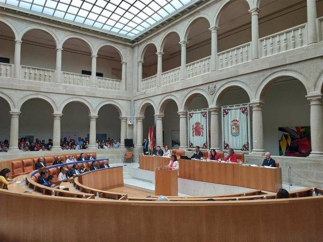 Nueva sesión investidura Concha Andreu como presidenta del Gobierno de La Rioja