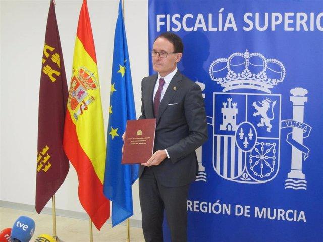 El Fiscal Superior de la Región, José Luis Díaz Manzanera, presenta la Memoria de 2018