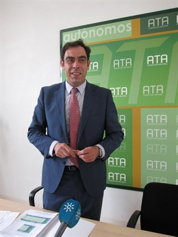 El presidente de ATA-Andalucía, Rafael Amor, en una imagen de archivo.