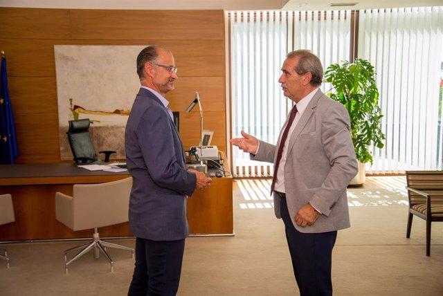 Luis Fuentes (i) y Agustín Sánchez de Vega.
