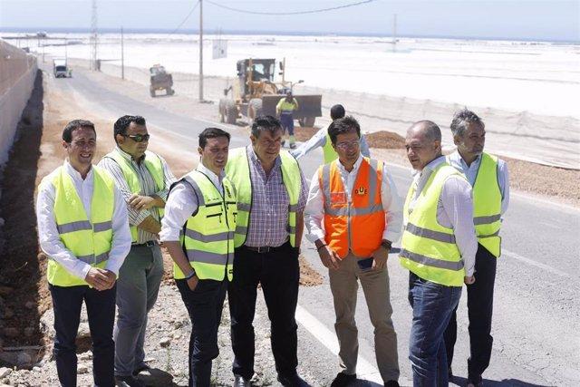 Visita a las obras enmarcadas en el Plan de Caminos Rurales de Diputación de Almería