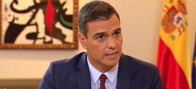 Entrevista al president del Govern en funcions, Pedro Sánchez