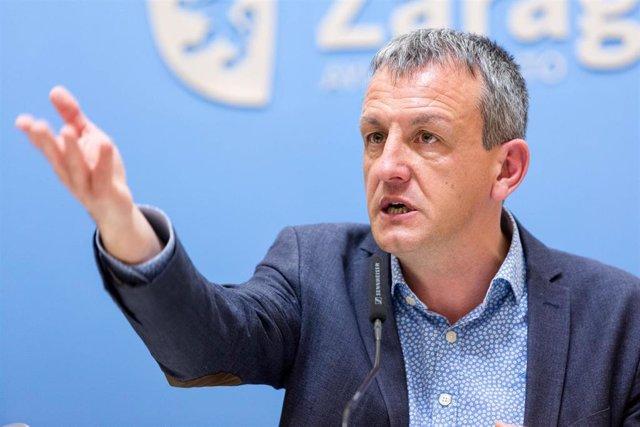 Fernando Rivarés, concejal de Podemos-Equo en el Ayuntamiento de Zaragoza.