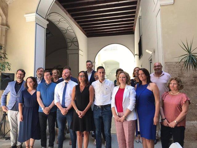 Diputados que forman el gobierno de la Diputación de València en la legislatura 2019-2023.