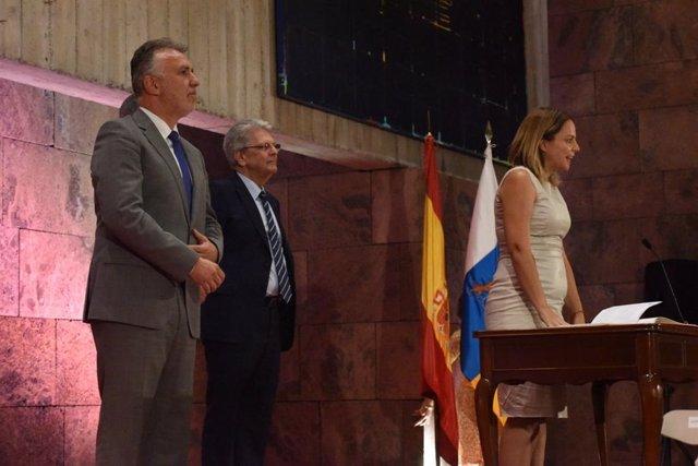 Noemí Santana toma posesión como consejera de Derechos Sociales, Igualdad, Diversidad y Juventud del Gobierno de Canarias