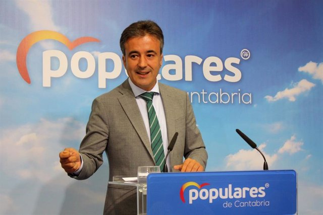 Diego Movellán, diputado nacional del PP cántabro