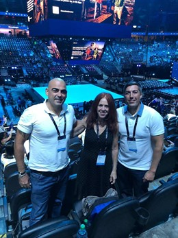 Participantes en el encuentro de partners de Microsoft en Las Vegas