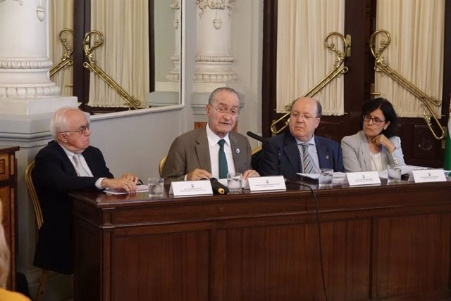 Presentación del estudio de tráfico de la vía perimetral de Málaga