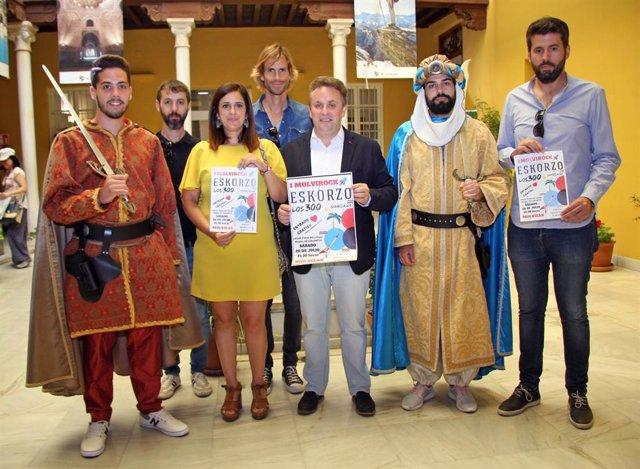 Molvízar celebra a finales de mes sus centenarias Fiestas de Moros y Cristianos