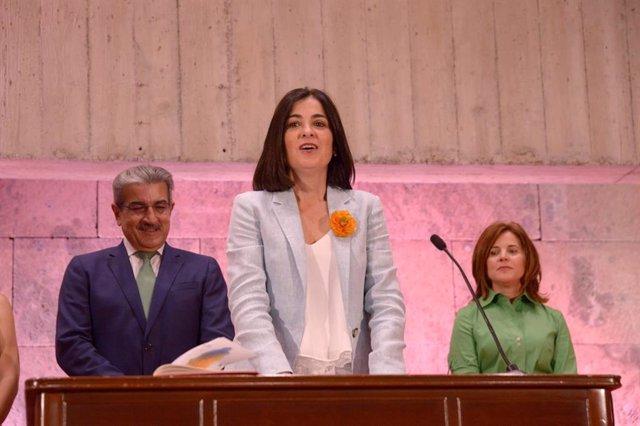 La consejera de Economía, Conocimiento y Empleo del Gobierno de Canarias, Carolina Darias