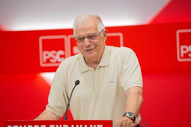 El ministro en funciones de Asuntos Exteriores, Josep Borrell