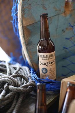 Cerveza con percebes de Estrella Galicia