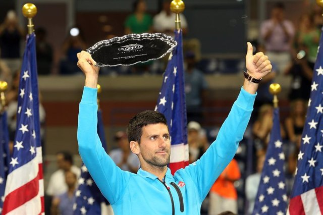 Novak Djokovic tras la final del US Open