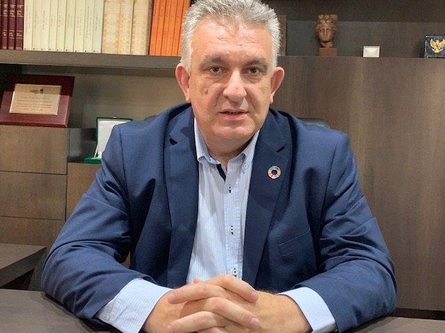 El presidente de la Cámara de Comercio de Lleida, Jaume Saltó.