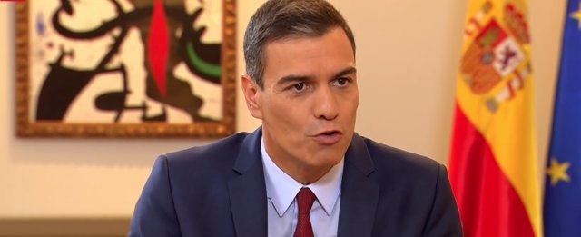 Entrevista al presidente del Gobierno en funciones, Pedro Sánchez