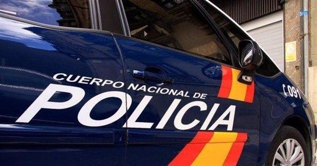 Recurs d'un cotxe de la Policia Nacional