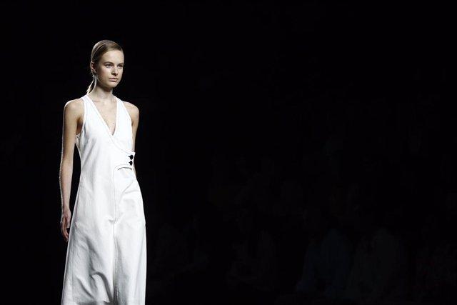 Desfile de Ángel Schlesser en la Mercedes-Benz Fashion Week Madrid, antigua Pasarela Cibeles
