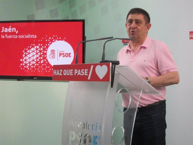 Francisco Reyes , secretario general del PSOE de Jaén/Archivo
