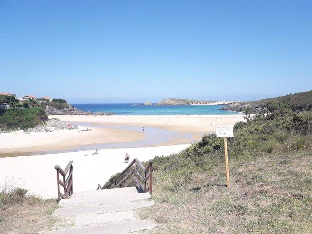 Playa de Meirás, Valdoviño (A Coruña)