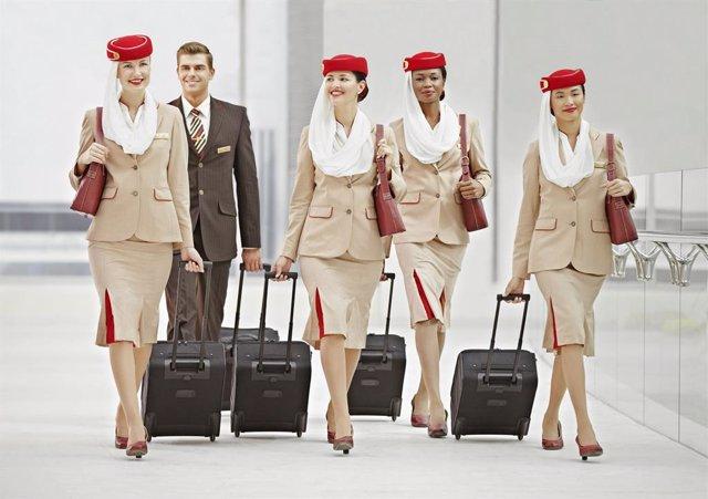 Auxiliares de vuelo de Emirates