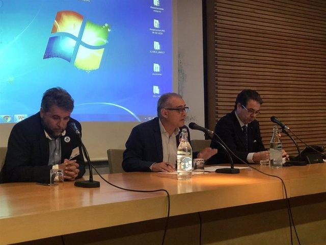 El presidente de la Confederación Hidrográfica del Guadalquivir  inaugura la Jornada sobre planes municipales ante situaciones de sequía,