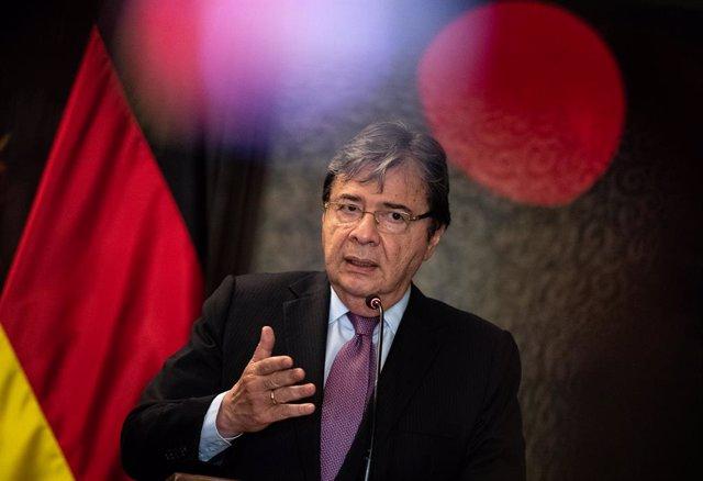 El ministro de Exteriores de Colombia, Carlos Holmes Trujillo