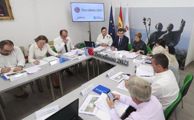 Fotos Xunta. Reunión Consejo Jacobeo.