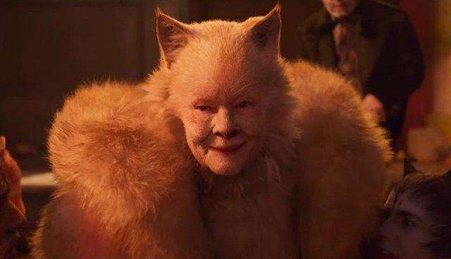 Imagen de Judi Dench en Cats, la adaptación del clásico musical de Broadway