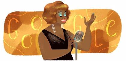 Google homenajea con un 'doodle' a la cantante peruana Lucha Reyes en el 83 aniversario de su nacimiento