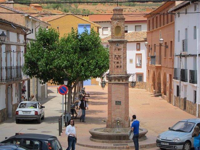 La localidad de Jaraba, en la provincia de Zaragoza.