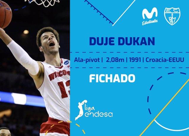 Duje Dukan ficha por el Estudiantes
