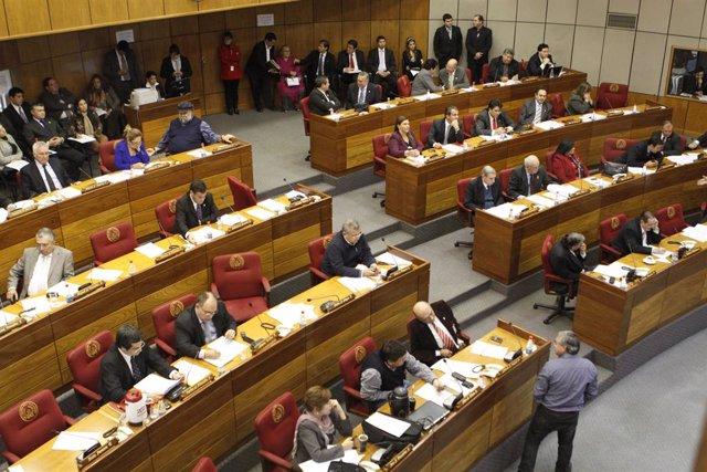 El Senado de Paraguay.