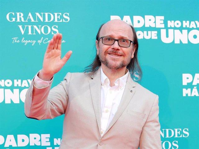 Santiago Segura en la premiere de 'Padre no hay más que uno'