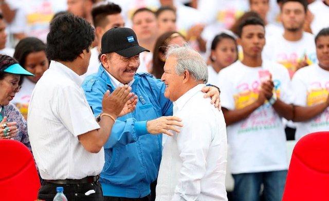 Actos conmemorativos de 38º aniversario de la Revolucin Sandinista