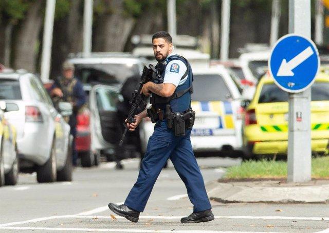 """N.Zelanda.- La Policía de Nueva Zelanda investiga un """"grave incidente"""" en Christchurch"""