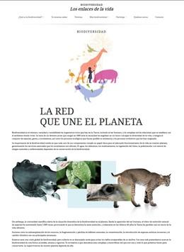 La Fundación Descubre estrena  la primera plataforma online integral de España  sobre divulgación científica de la biodiversidad