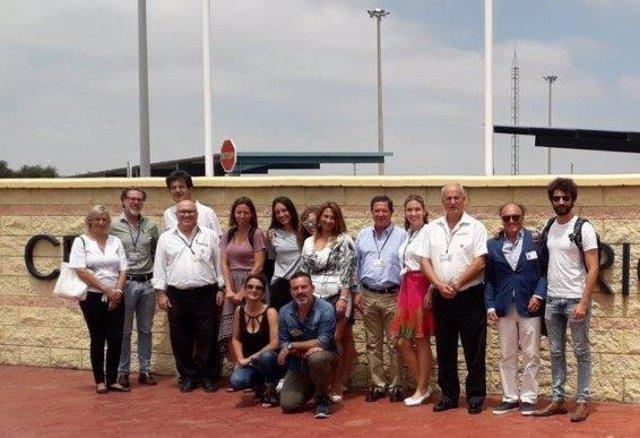 Clausura de los cursos de la UNED en Puerto III