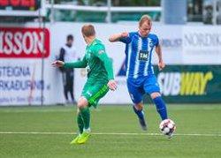 L'Stjarnan marca 'in extremis' i jugarà contra l'Espanyol a la Lliga Europa (STJARNAN FC)