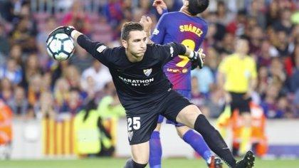 El Espanyol ficha al portero Andrés Prieto por las próximas dos temporadas