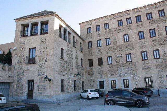 Edificio, Antiguo, Cortes