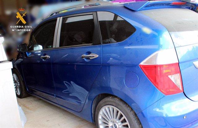 Uno de los coches vendidos en la operación fraudulenta