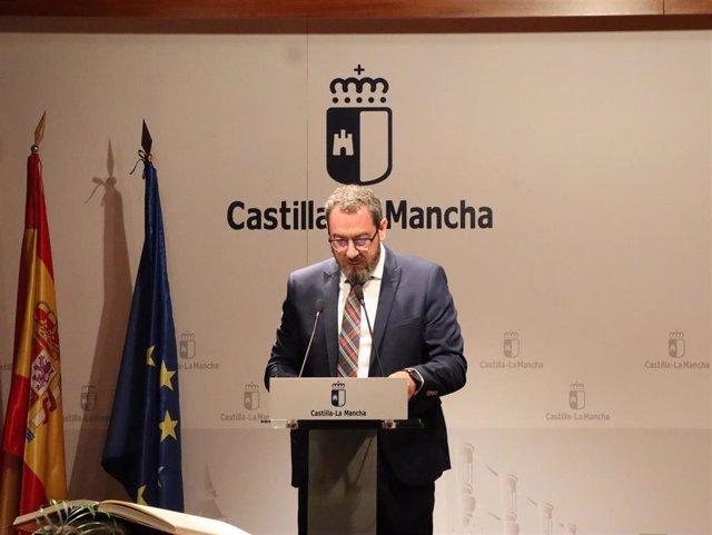 Eusebio Robles ha prometido su cargo como nuevo delegado de la Junta en Guadalajara
